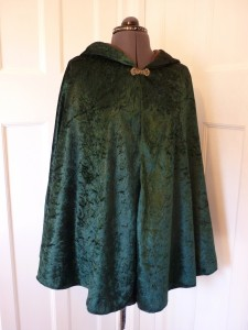 Cloaks and capes made to order